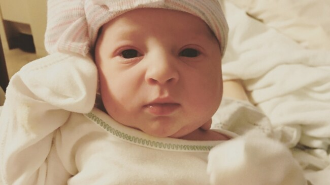 Emma Wren Gibson was frozen for 24 years. Photo: National Embryo Donation Center
