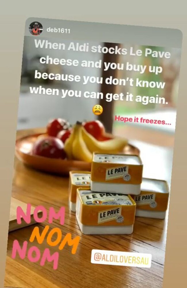 Aldi's sellout $6 cheese 'back on shelves'
