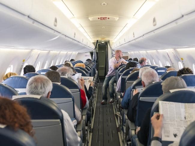 Don't want to get sick? Don't sit in an aisle seat.