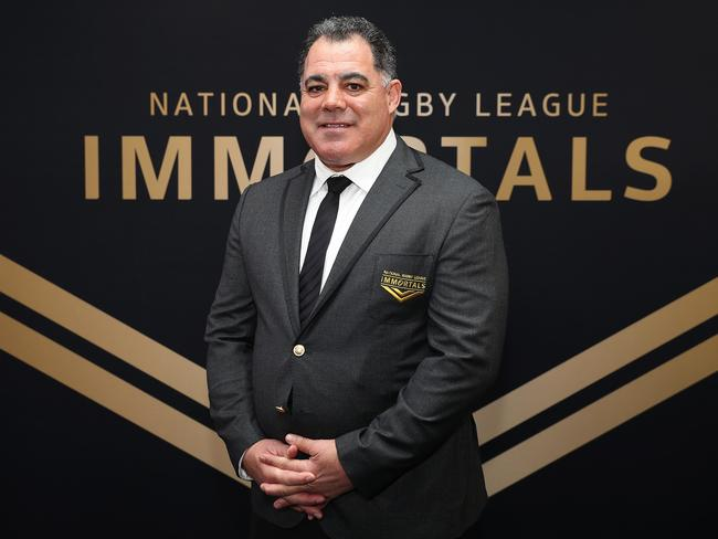 Mal Meninga received the ultimate honour.