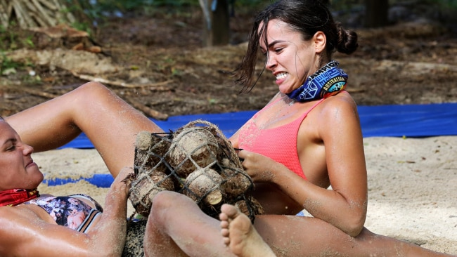 Image: Supplied. Network Ten. Australian Survivor.