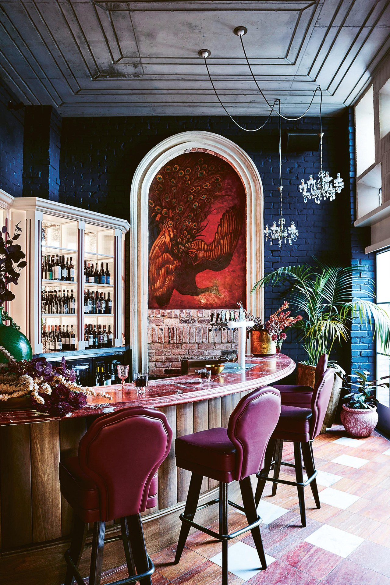 The Sydney pub making us want to decorate exclusively with velvet and tassels
