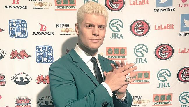 Cody Rhodes left WWE two years ago and is now one of the biggest stars on the independent wrestling scene, featuring for New Japan Pro Wrestling and Ring of Honor.