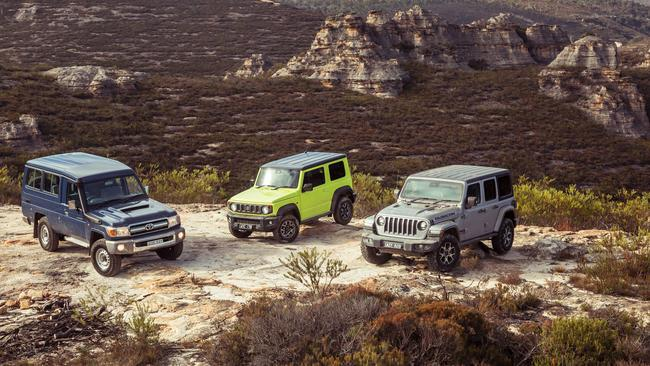 All three are excellent off-roaders that cover a wide price range. Pics by Thomas Wielecki
