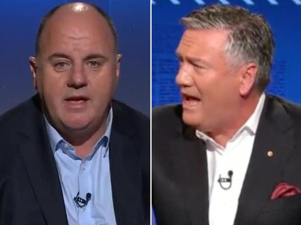 Craig Hutchison has hit back at Eddie McGuire's comments on Footy Classified.