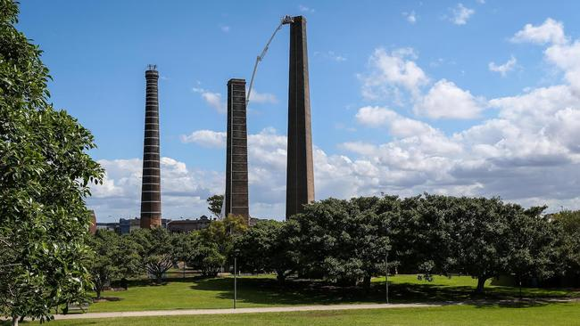 The popular Sydney Park, in Sydney's inner west, is built on the site of a former waste depot.