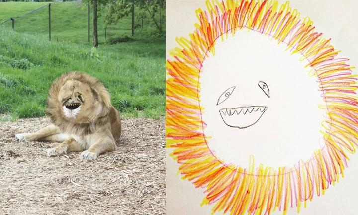 "<p><em>Kidspot: If you could be one of your creations, which one would you be and why?</em></p>  <p>Tom: It's got to be the lion. He just sits around and sleeps all day. He's clearly a very satisfied fella. Just look at his face.<a href=""https://www.instagram.com/thingsihavedrawn/"">Image: @thingsihavedrawn</a></p>"
