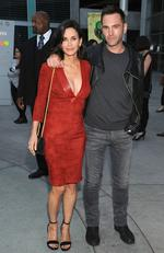 Courtney Cox, 51 and Johnny McDaid, 39, got engaged just six months after they were first spotted together. A new report claims Ed Sheeran is set to become a pastor to officiate his close friend's marriage. Picture: Getty