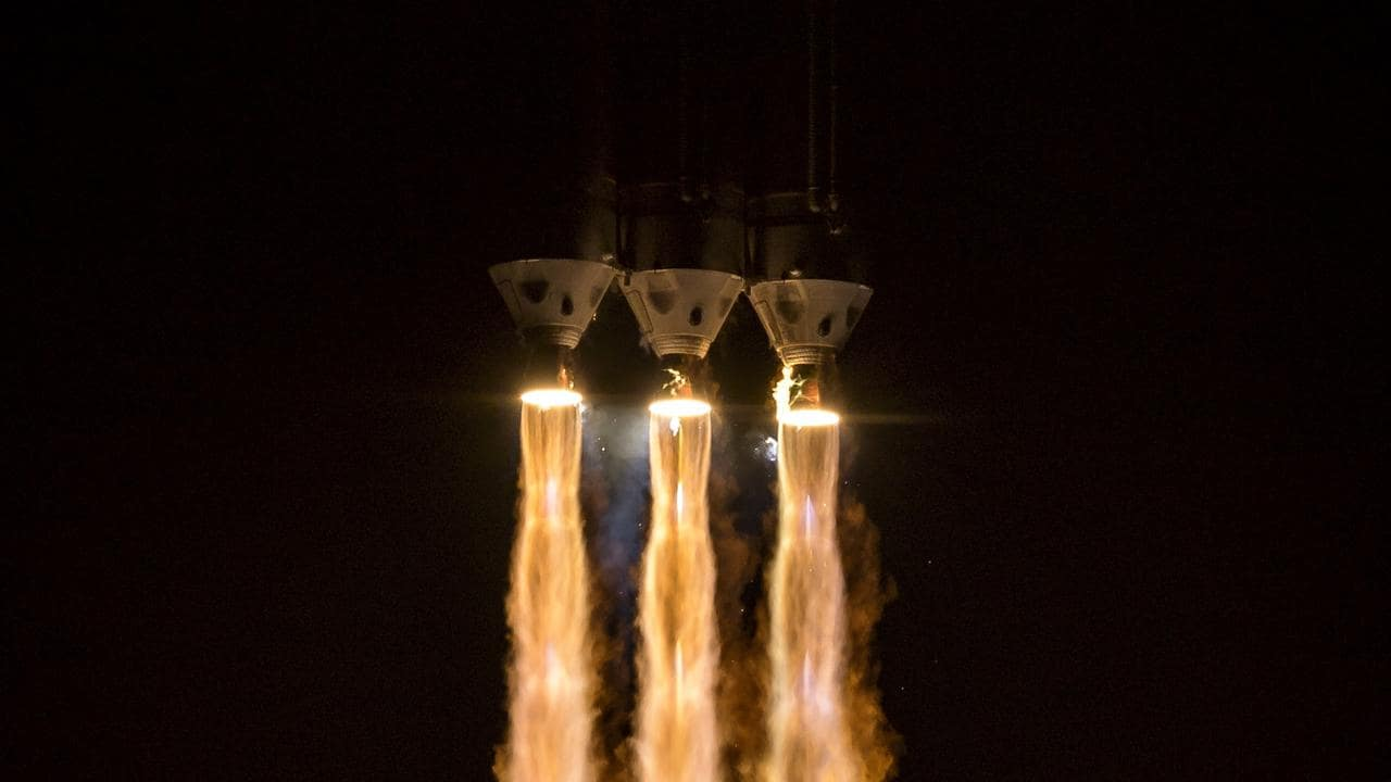 Delta IV Heavy rocket launching NASA's Parker Solar Probe. Picture: AFP/NASA/Bill Ingalls