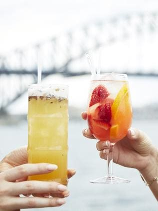 Fresh summer cocktails are also on the menu.