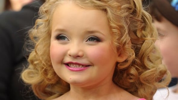 Honey Boo Boo became famous on Toddlers and Tiaras.