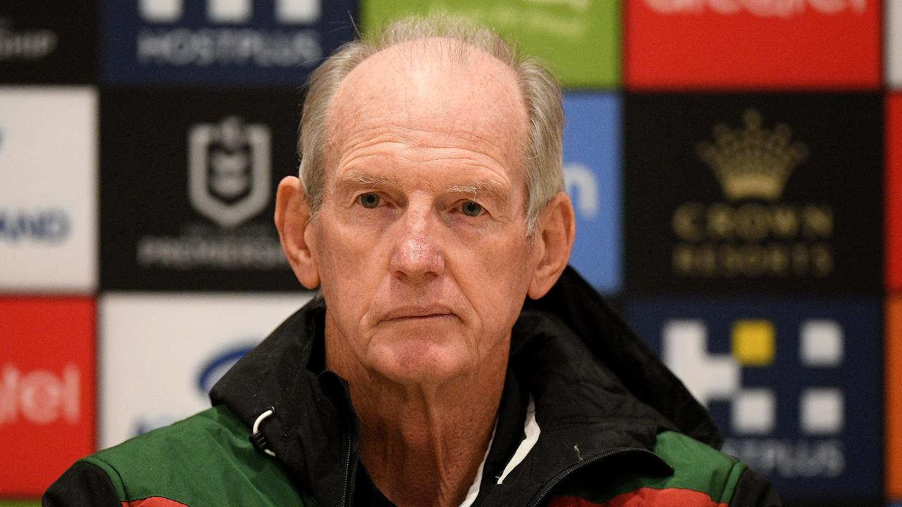 Wayne Bennett of the Rabbitohs.