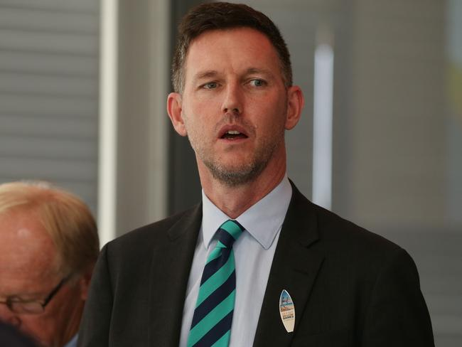 ETU sent email with Mark Algie CV | The Courier-Mail