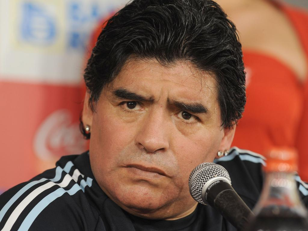 Maradona's successful career was marred by severe financial troubles.