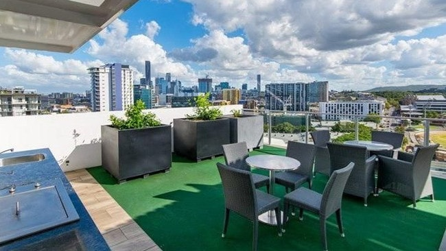 The spacious flat is bigger than other similar inner-city apartments. Picture: realestate.com.au