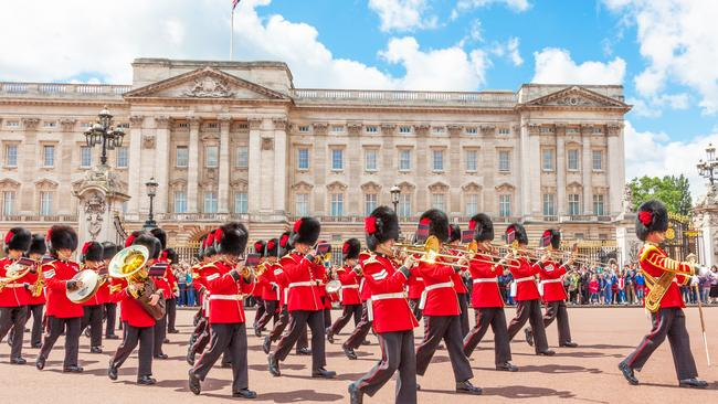 Buckingham Palace where, apparently, a lot of things are second-hand. Picture: Istock