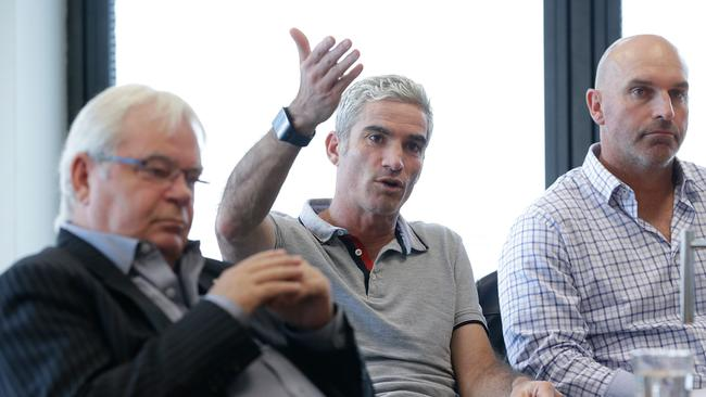 Craig Foster is a leading candidate in the FFA election