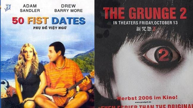 Dodgy bootleg DVD covers | The Courier Mail
