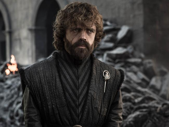 Peter Dinklage in a scene from Game of Thrones. Picture: AP