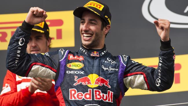 Daniel Ricciardo's rise at Red Bull has stunned the F1 world.