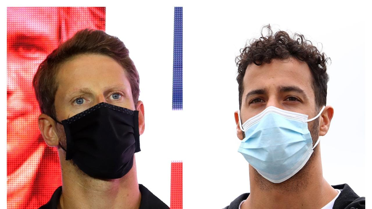 Romain Grosjean and Daniel Ricciardo's incident sparked some brutal comments directed at the Frenchman.