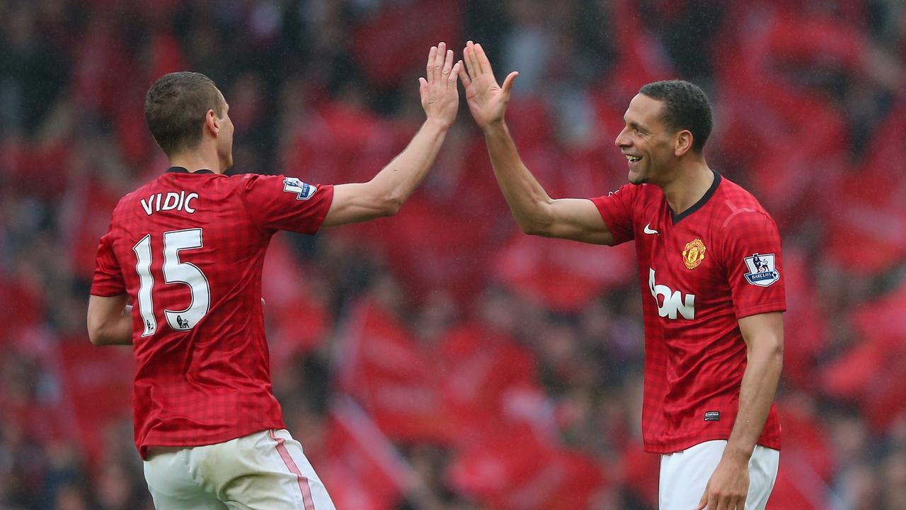 Nemanja Vidic and Rio Ferdinand were arguably the best central defensive PL partnership.