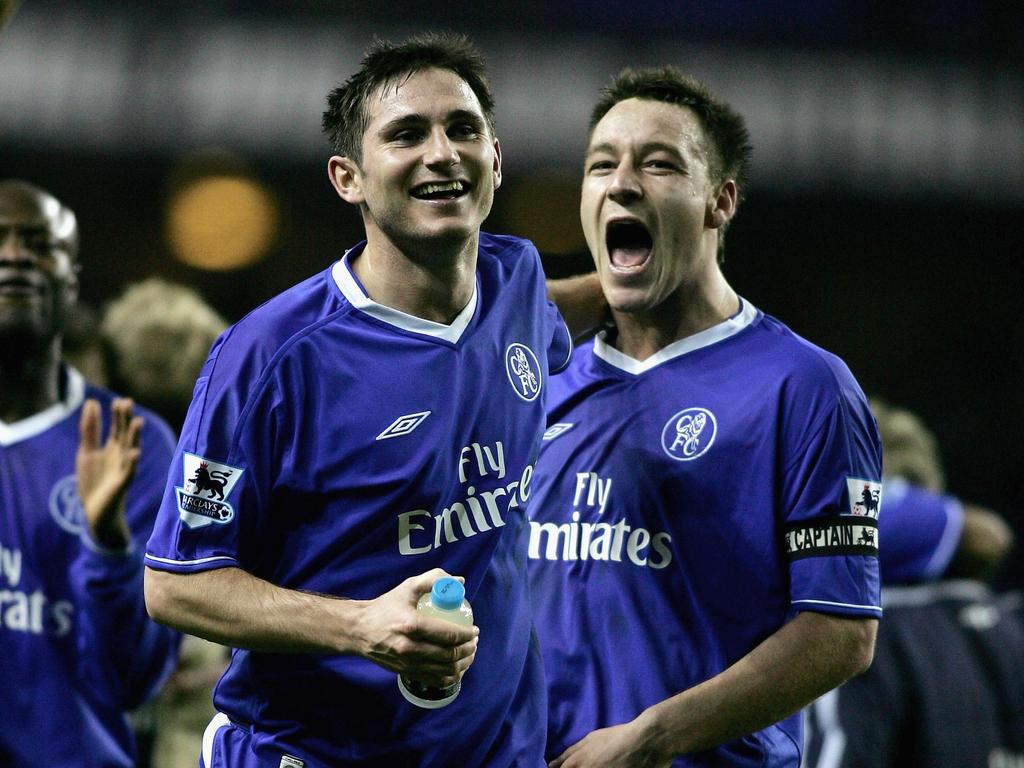 Frank Lampard and John Terry will face off for a place in the Premier League