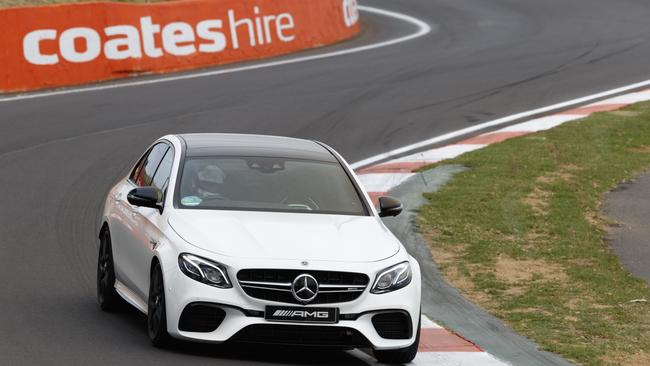 Conquer Bathurst and drive gently home: The E63 is arguably AMG's best car to date.