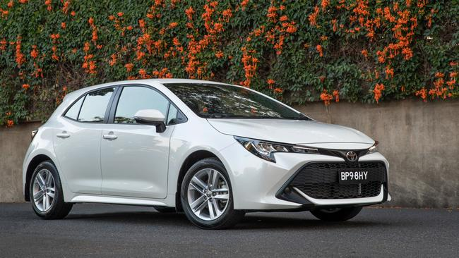 Local favourite: Toyota is set to launch its next-generation Corolla in Australia