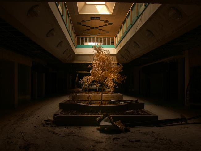 Seph Lawless photographed the abandoned Metro North Mall in Kansas City just before it was demolished. Picture: Seph Lawless.