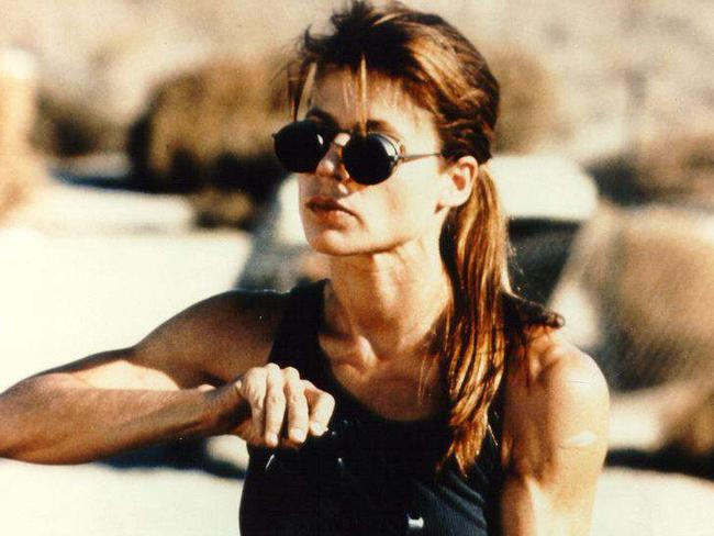 James Cameron is re-releasing  <i>Terminator 2: Judgment Day </i>in 3D, starring his ex-wife Linda Hamilton.