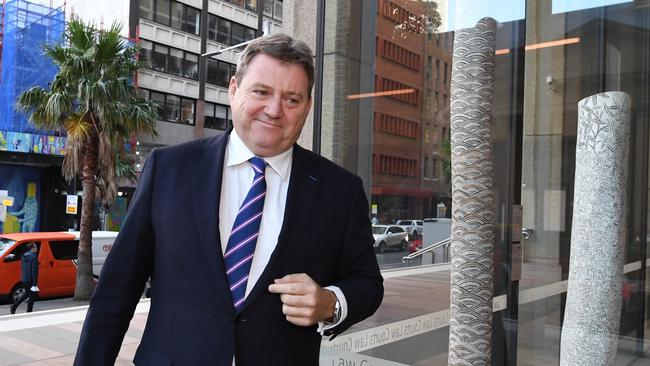 Bart Campbell has taken the stand in the Federal Court to give evidence in support of the NRL's 'no-fault stand down' policy