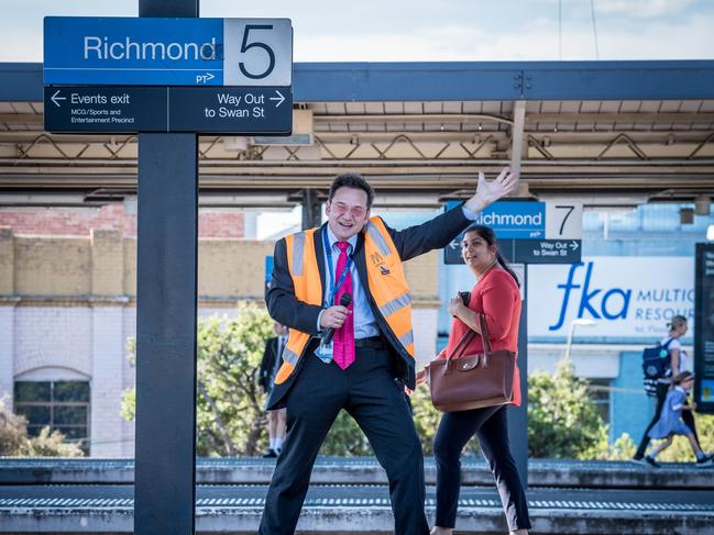 Don't forget to check changes if you plan on using public transport. Picture: Jake Nowakowski