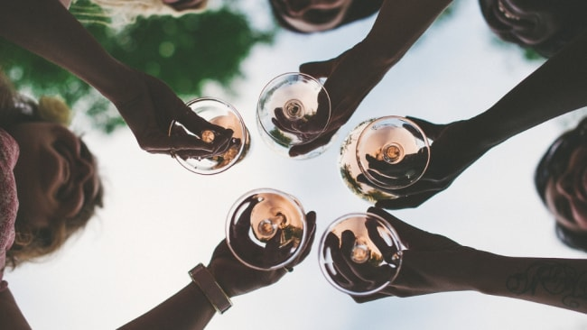 And the award for most enthusiastic rose-drinker goes to... Image: iStock.