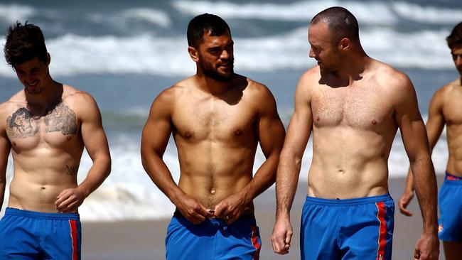 Karmichael Hunt has told teammates he's leaving the AFL. Picture: David Clark