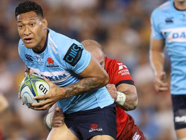Israel Folau has divided opinion again.