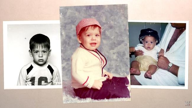 Big Show as a baby.