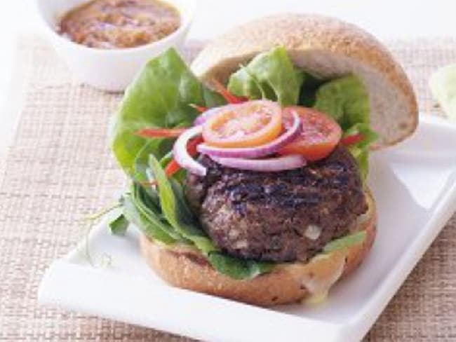 Blak Markets offer kangaroo burgers as well. Picture: Supplied