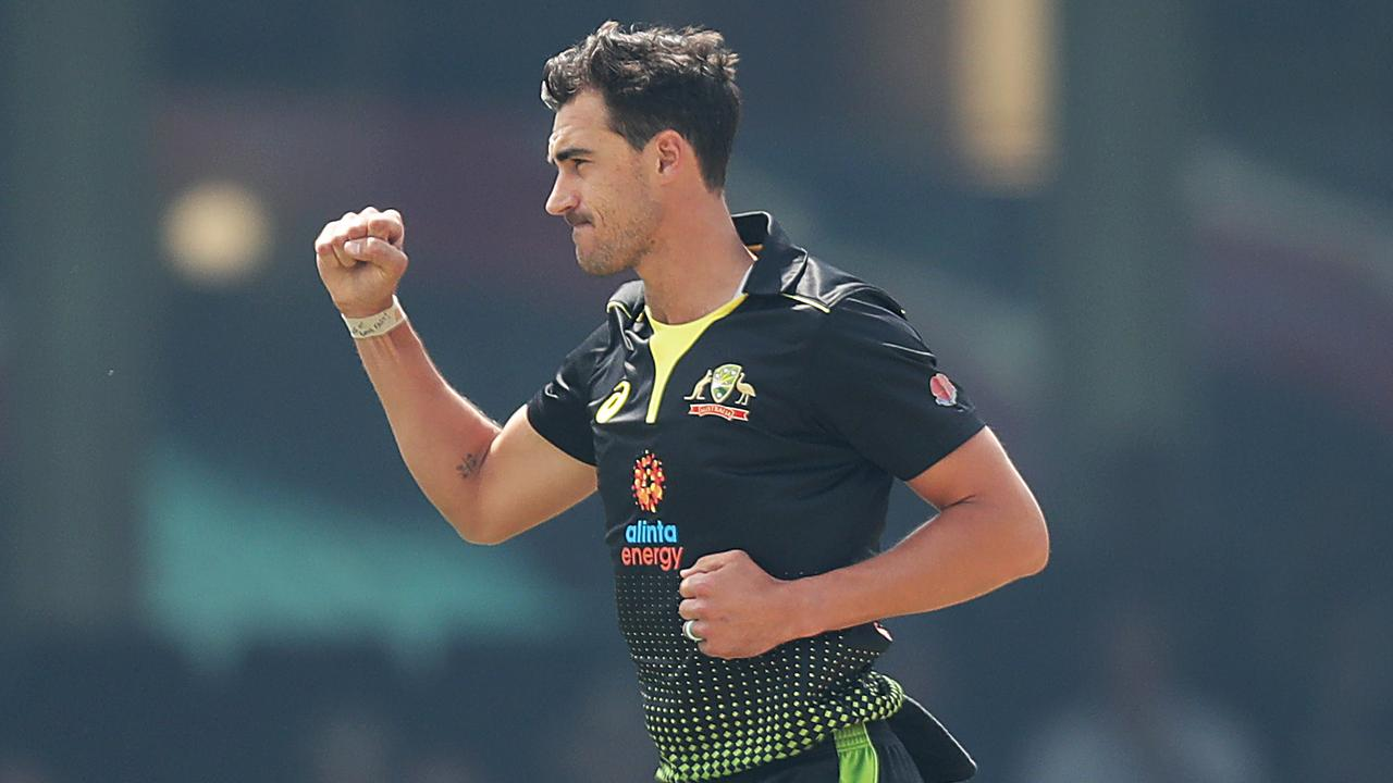 Mitchell Starc is leading a lethal and controlled Australian T20 attack.