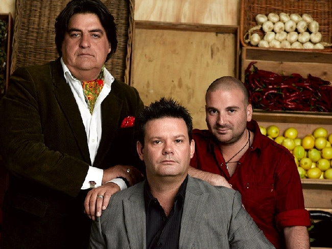 Matt Preston, Gary Mehigan and George Calombaris were relatively unknown when they started on MasterChef in 2009.