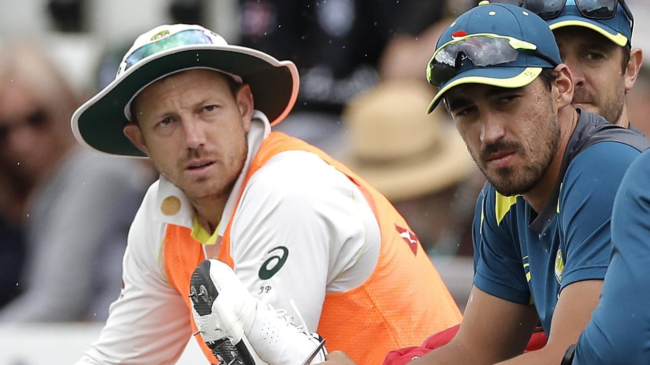 James Pattinson has been left out of Australia's XI for the second Test.