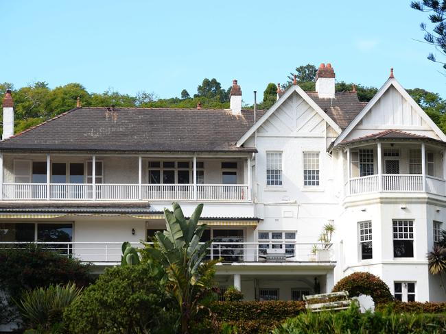 The seven-bedroom Victorian mansion in Point Piper could use some work. Picture: AFP/Peter Parks