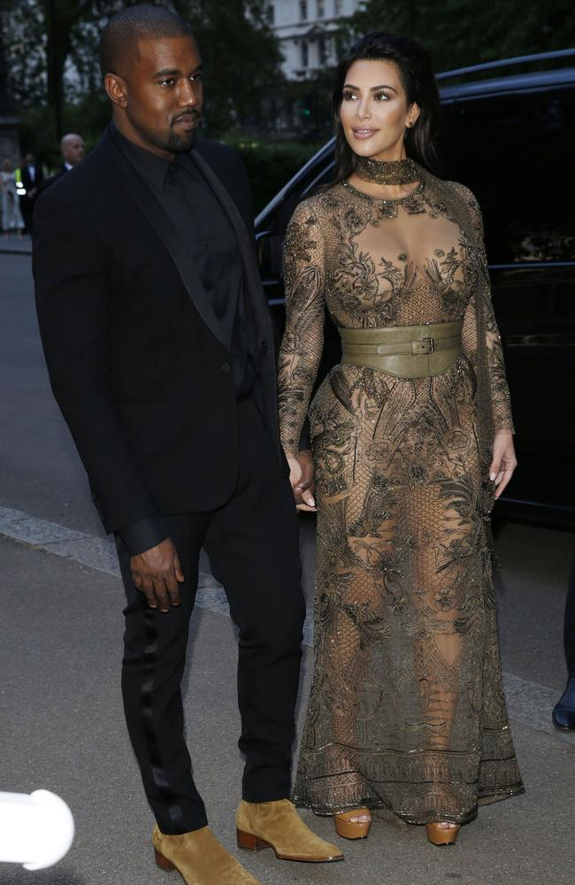 Kim Kardashian and Kanye West are gearing up for the VMAs. Picture: Rex Features/Splash News