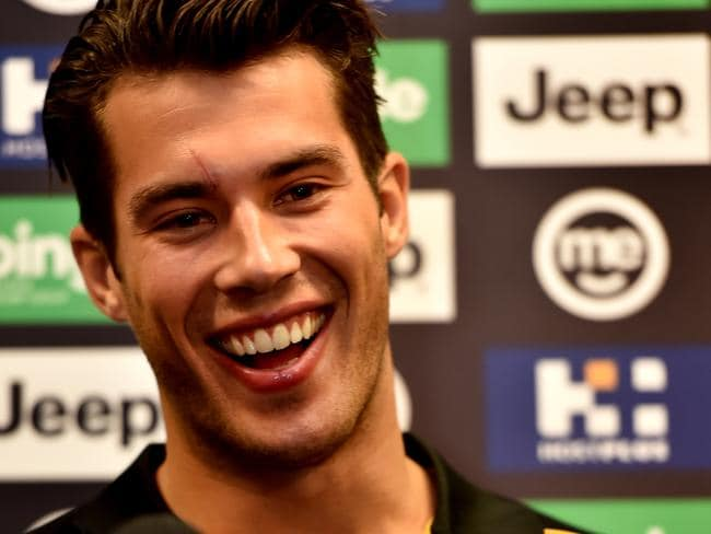 Aside from Hampson, Alex Rance proves you must have ridiculously good facials to play for Richmond.