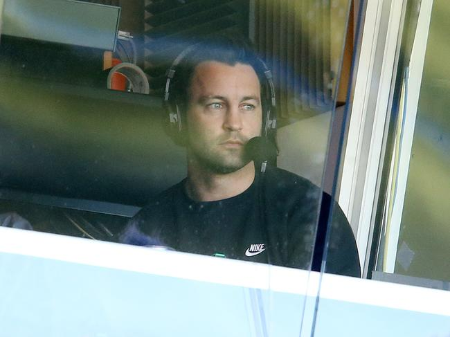 Bartel in the commentary box.