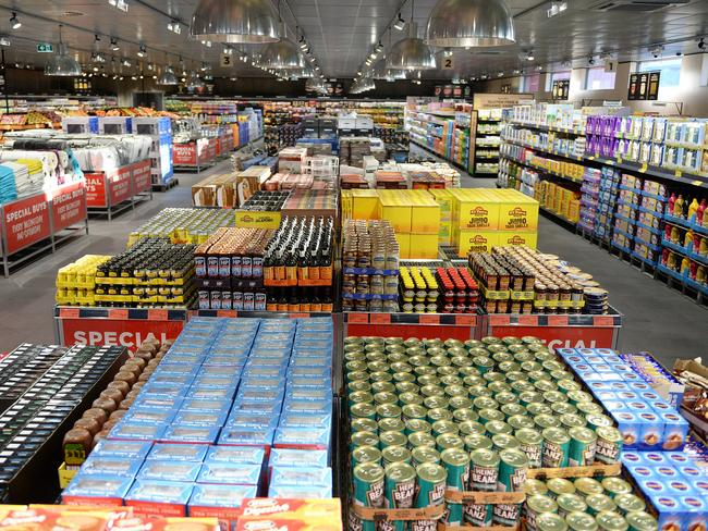 Aussie workers are paying a price for cheap groceries. Picture: Daniel Wilkins