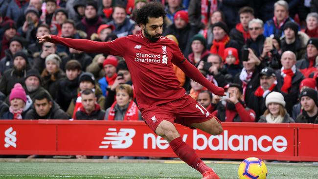 Salah has copped his fair share of criticism for going down too easily.