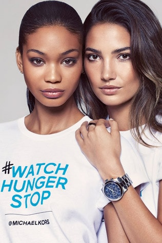 04620676b59c Michael Kors campaign for October to fight against hunger - Vogue ...