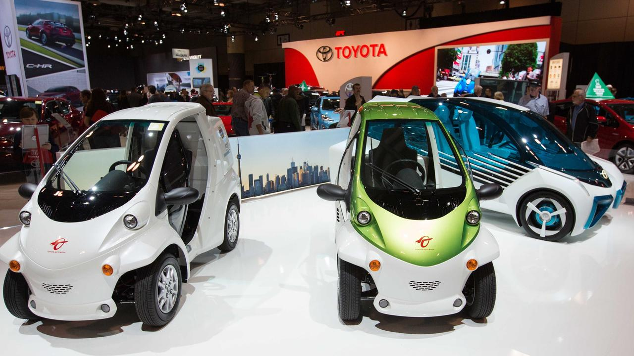 Toyota Sets Out Ambitions For Electric Vehicles