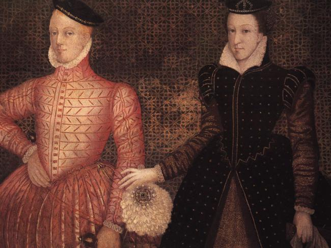 A portrait of Mary, Queen of Scots and Lord Darnley from the book 'Mary, Queen of Scots and the Murder of Lord Darnley' by Alison Weir.